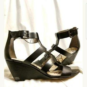 Sam Edelman sandals sz 8 Sabrina cage gladiator